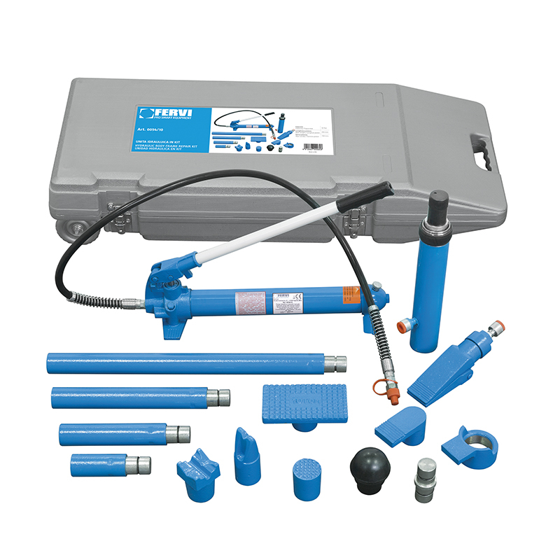 Unità idraulica in kit per utensili idraulici martinetto Fervi 0054/10