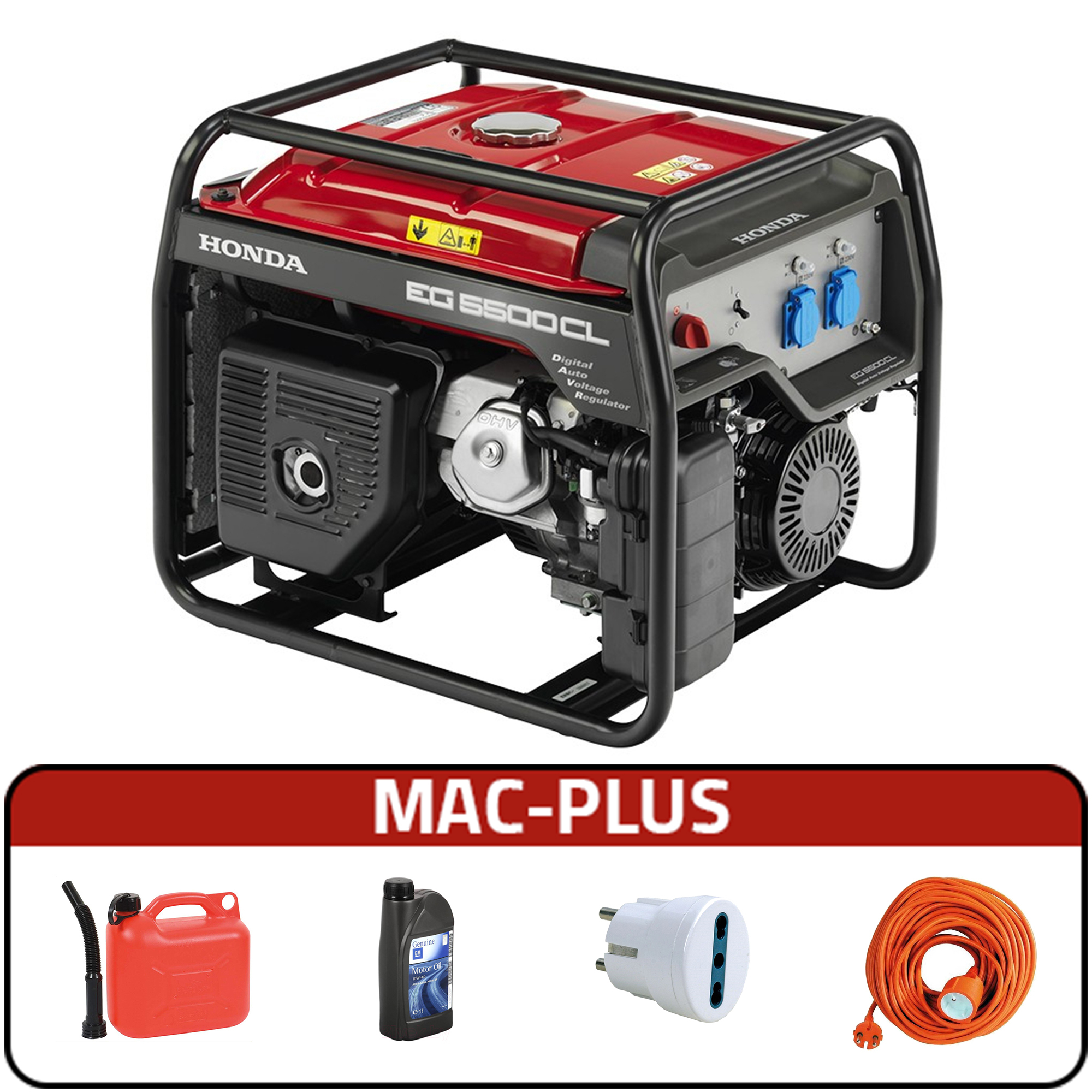Image of Generatore di corrente Honda EG 5500CL + MAC - PLUS