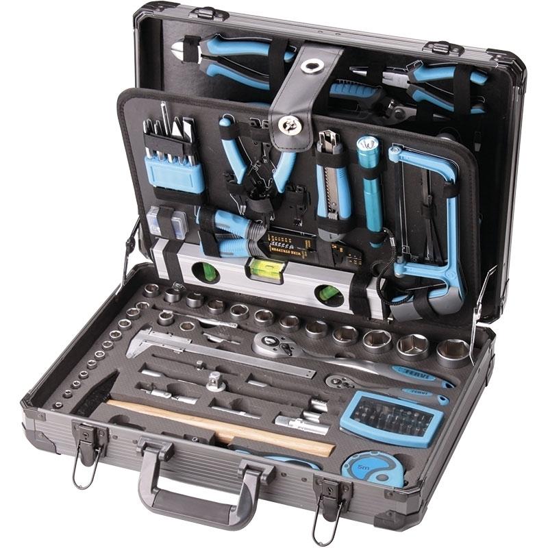 Fervi 0105 Valigia con utensili e accessori