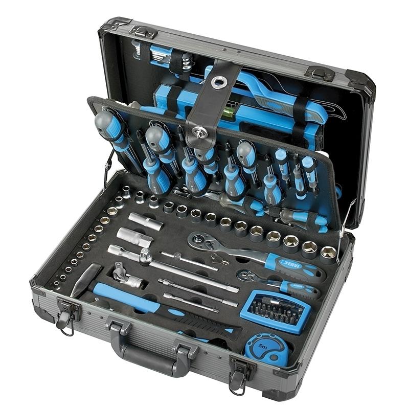 Fervi 0110 Valigia con utensili e accessori