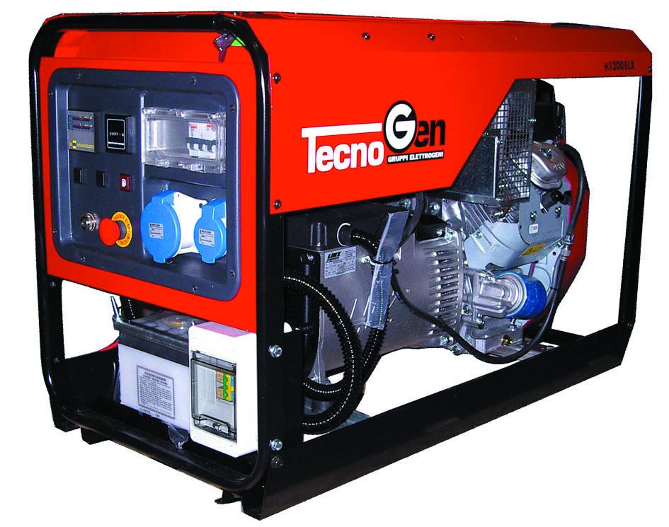 Image of Generatore di corrente TecnoGen H13000ELX con AVR