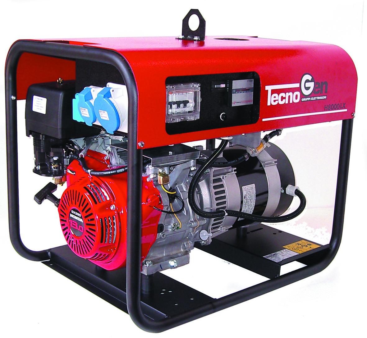 Image of Generatore di corrente TecnoGen H8000ELX