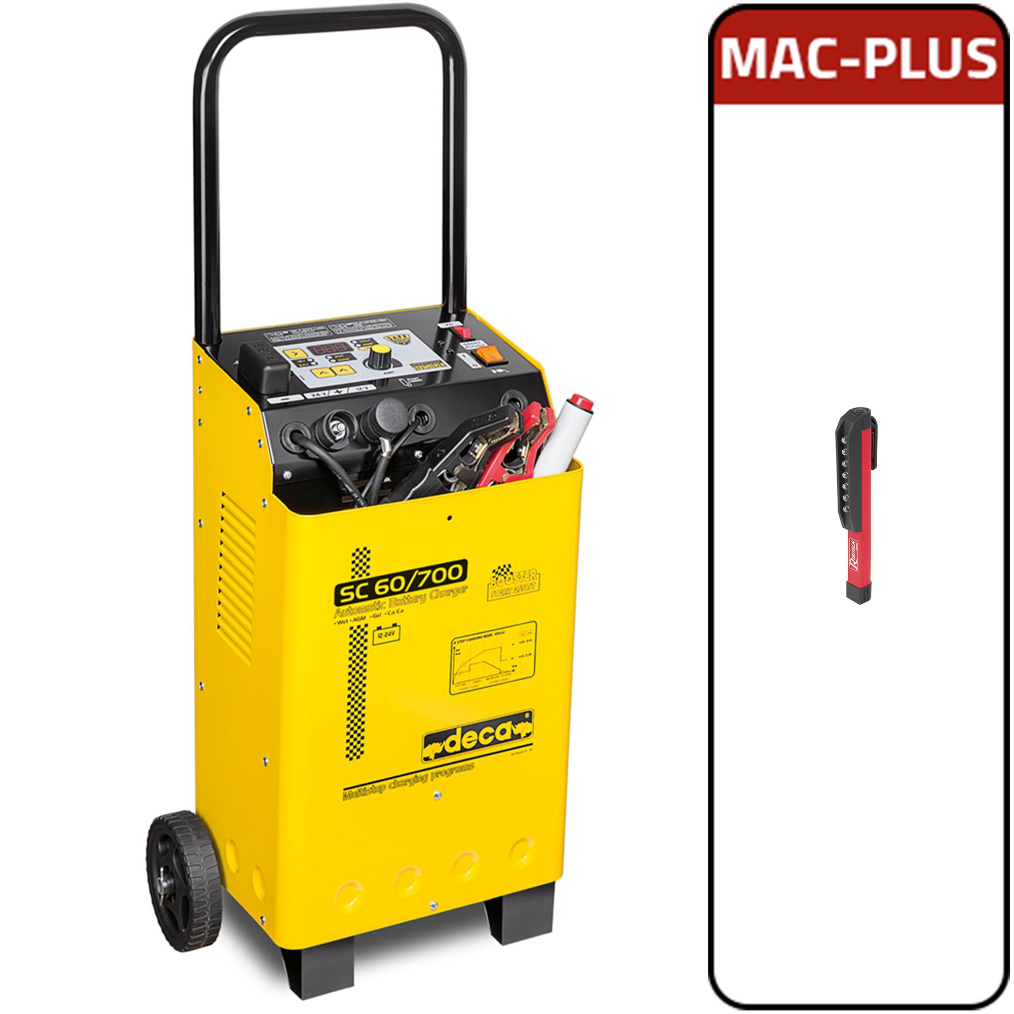 Image of Avviatore caricabatterie mantenitore 12-24V Deca SC 60/700 + MAC - PLUS